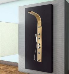 Hindware Gold Shower Panels, Dimension/Size: 1700x150x550