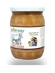 Good Way Organic Pure Desi Ghee(500gm), Packaging Type: Bottle