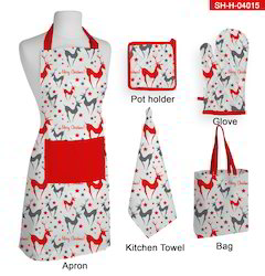 Christmas Kitchen Apron Set