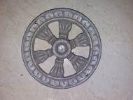 Cast Iron Decorative Cut Out