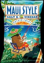 Salt & Vinegar Flavored Potato Chips