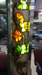 Coloured Wall Glass