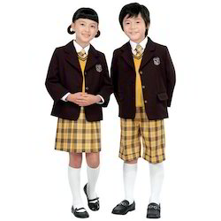 School Uniforms Girls And Boys With Coat