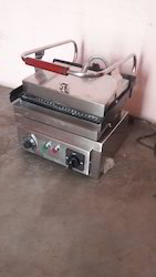 Stainless Steel Sandwich Griller, for Commercial