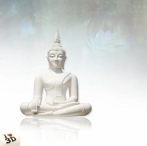 Lord Buddha Wallpaper, वॉलपेपर - Sai Ram Enterprises ...