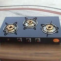 Three Burner Gas Stoves Glass Top