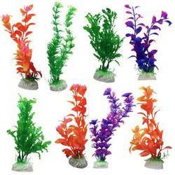 Aquarium Plastic Plants Decoration