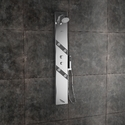 Amora Steel Matte Shower Panel