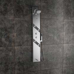 Amora Steel Matte Shower Panel