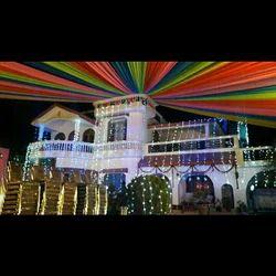 Wedding Home Decor At Rs 10000 Day Room Decoration Wall Decoration À¤˜à¤° À¤• À¤¸à¤œ À¤µà¤Ÿ À¤¹ À¤® À¤¡ À¤• À¤° À¤¶à¤¨ New Items Jalaram Mandap Service Lighting Decoration Vadodara Id 20084484148