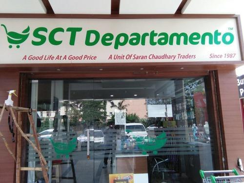 Led Acp Glow Sign Board Acrylic 3d Letters Manufacturer From Chandigarh