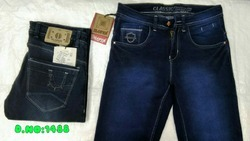 BLUE Comfort Fit Men Denim Jeans