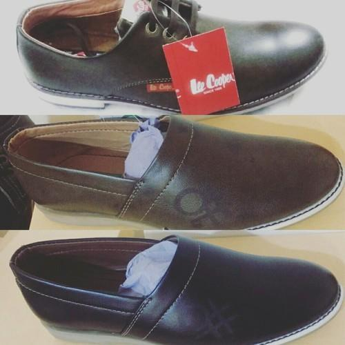 74950eb4e96 Black And Brown Men Branded Lee Cooper Casual Shoes