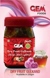 Gem Dryfruits Gulkand, Packaging Type: Pet Jar, 250 & 350 Gm