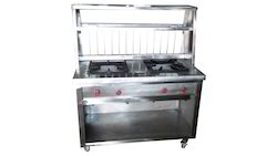 Stainless Steel Chole Bhatura Counter