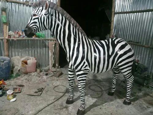 FRP Zebra Statue, Statues & Sculptures   N D ENTERPRISE in