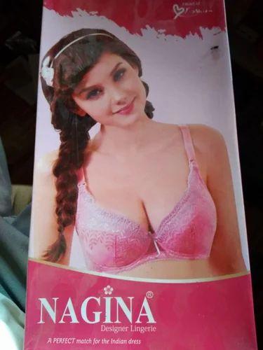 3a37962223964 Pink And Yellow Cotton Nagina Bra Panty Set