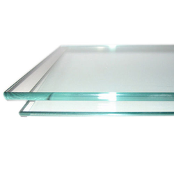 10-50 Square Feet Transparent Toughened Glass