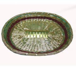 Metal Chid Oval Basket