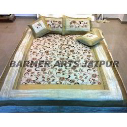 Velvet Border Bed Cover