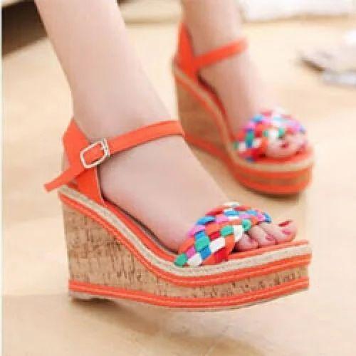 Wedges - Heel Sandal Manufacturer from Agra