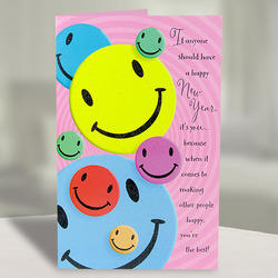 Retailer of stylish happy anniversary personalized plaque black new year cards bookmarktalkfo Gallery