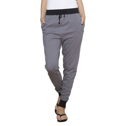 Female Steel Grey Clifton Women' s Ribbed Track Pant