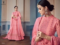 Designer Anarkali Party Wear Suit
