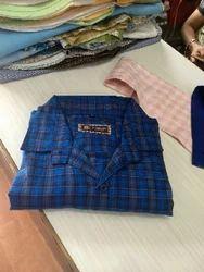 Blue Check Shirts
