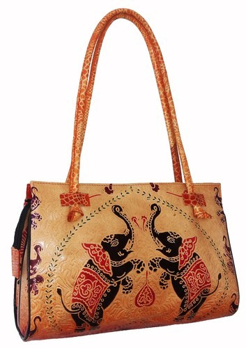 c7418989ddec Printed Leather Bag at Rs 800  piece(s)