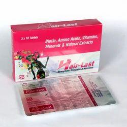 Biotin Amino Acids Vitamins Minerals Tablets