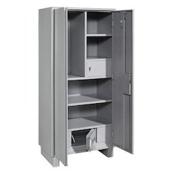 Steel Cupboard With Heavy Locker