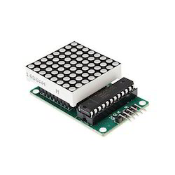 MAX7219 Dot LED Matrix Keypad Module