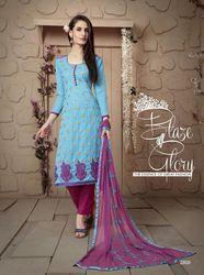 Fancy Salwar Suit With Matching Dupatta