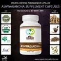 Organic Ashwagandha Capsules-500mg