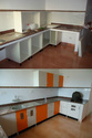Acrylic Kitchen Shutters Interior