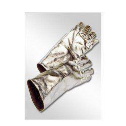Unisex Made With Aluminized Fabric Aluminized Fabric Gloves