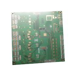 Double Sided Fr4 Grade Multilayer Printed Circuit Board, Single