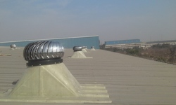 Wind Ventilators with FRP Base