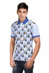 Polo Neck Men's T-Shirt