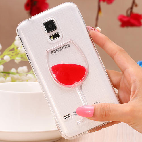 various colors 2cae5 0cc58 Glass Mobile Back 3d Cover Liquid Iphone 5/6 Samsung