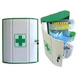 Beautiful Wall Mounted First Aid Cabinet Empty