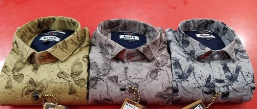K9 Multi Mens Casual Shirts