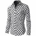 Cotton Casual Men Fancy Shirt