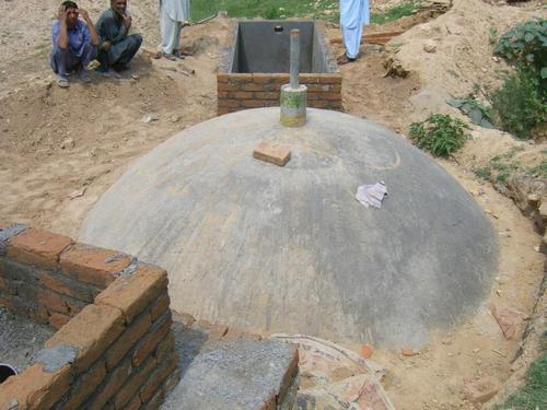 Biogas Plant Fixed Dome Storage - Agro Engineering And