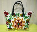 Suzani Handbag Embroidered Handmade Shopping Bag