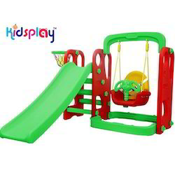 Toddler Slide with Swing