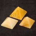 Yellow Aventurian Pyramid
