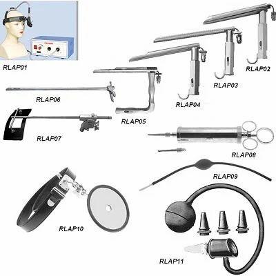 ENT Instruments For Ear & Throat - R  L  Hans Raj & Co