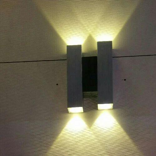 aluminium led modern wall sconce light